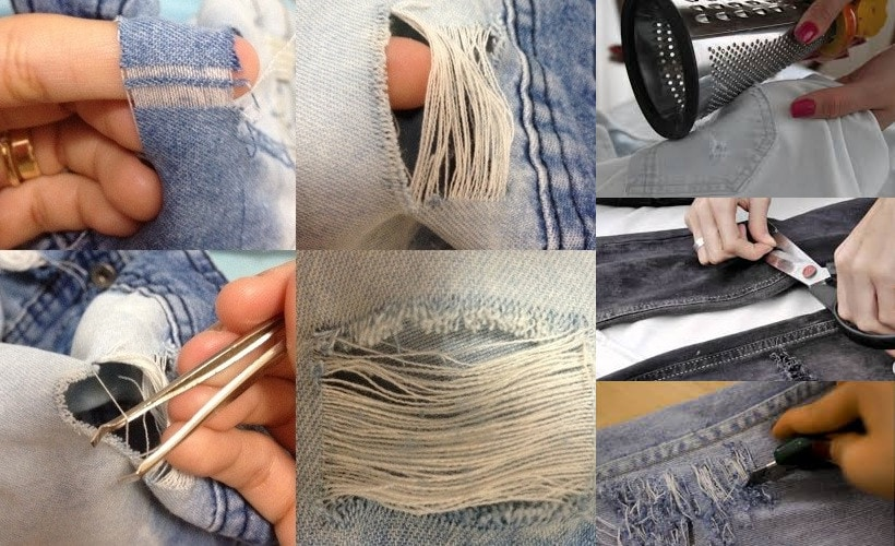 Homemade trick to make jeans look new again