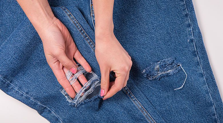 Ripped Jeans Tutorial