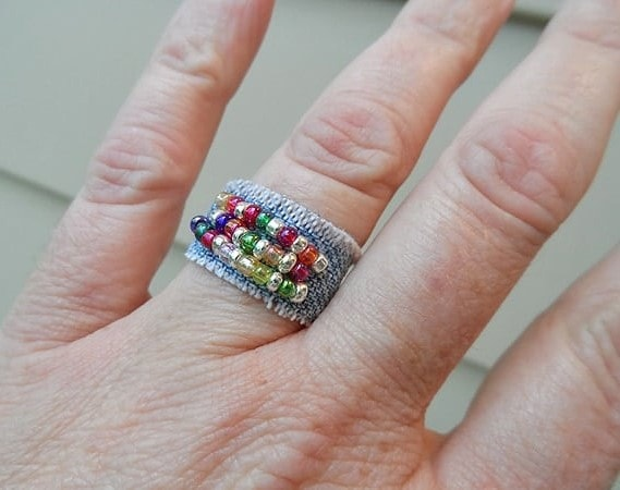 Denim ring