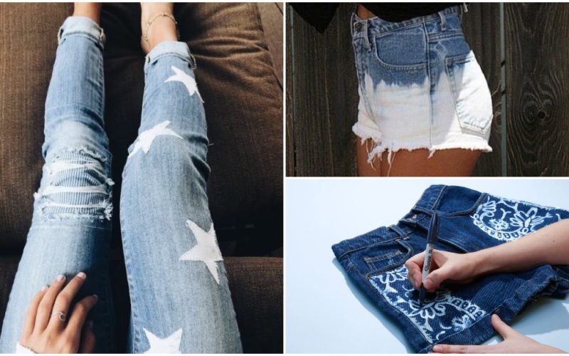 Bleach jeans: how it works