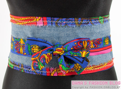 Wrap Belt From Old Jeans