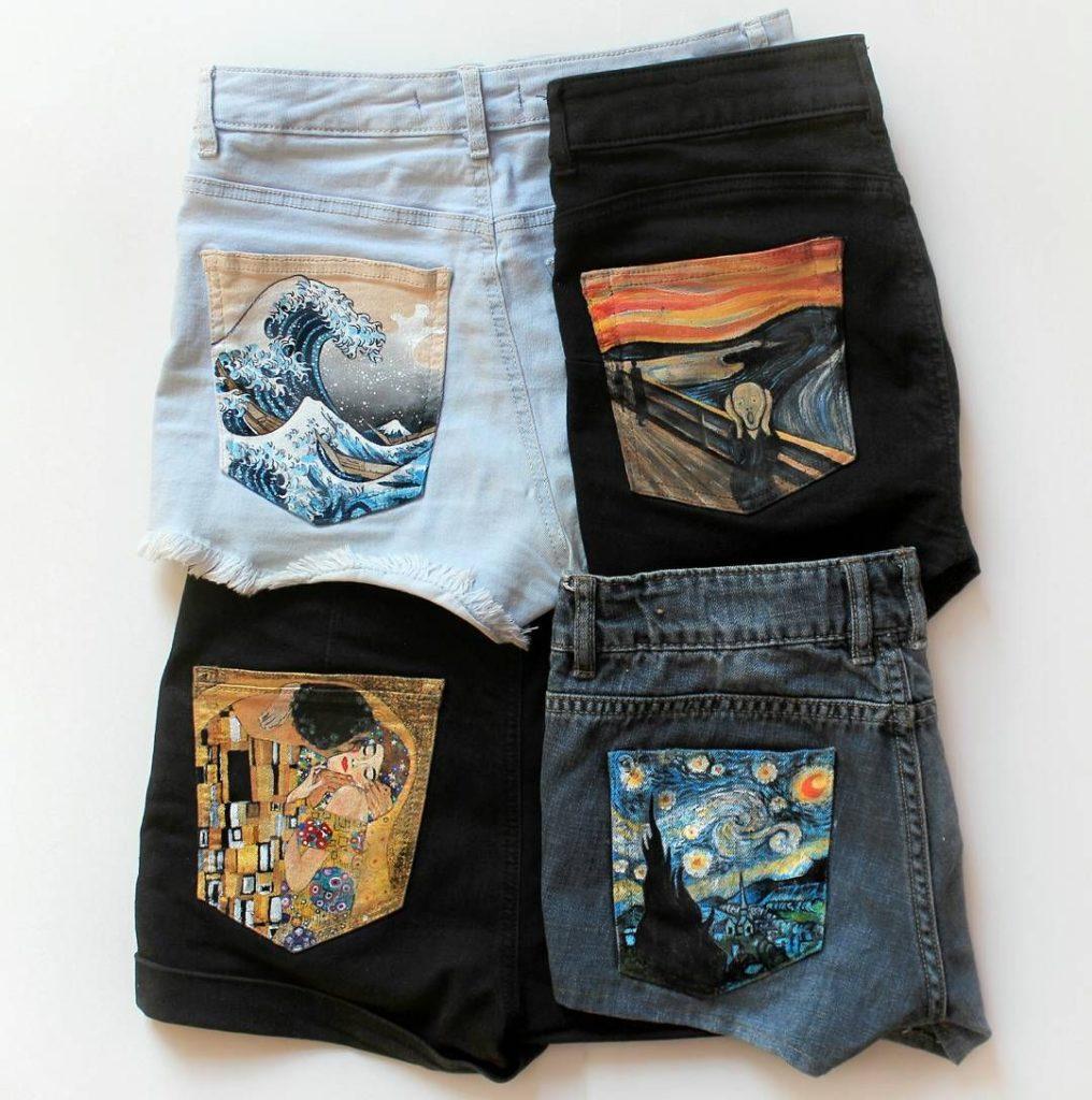 Awesome art shorts