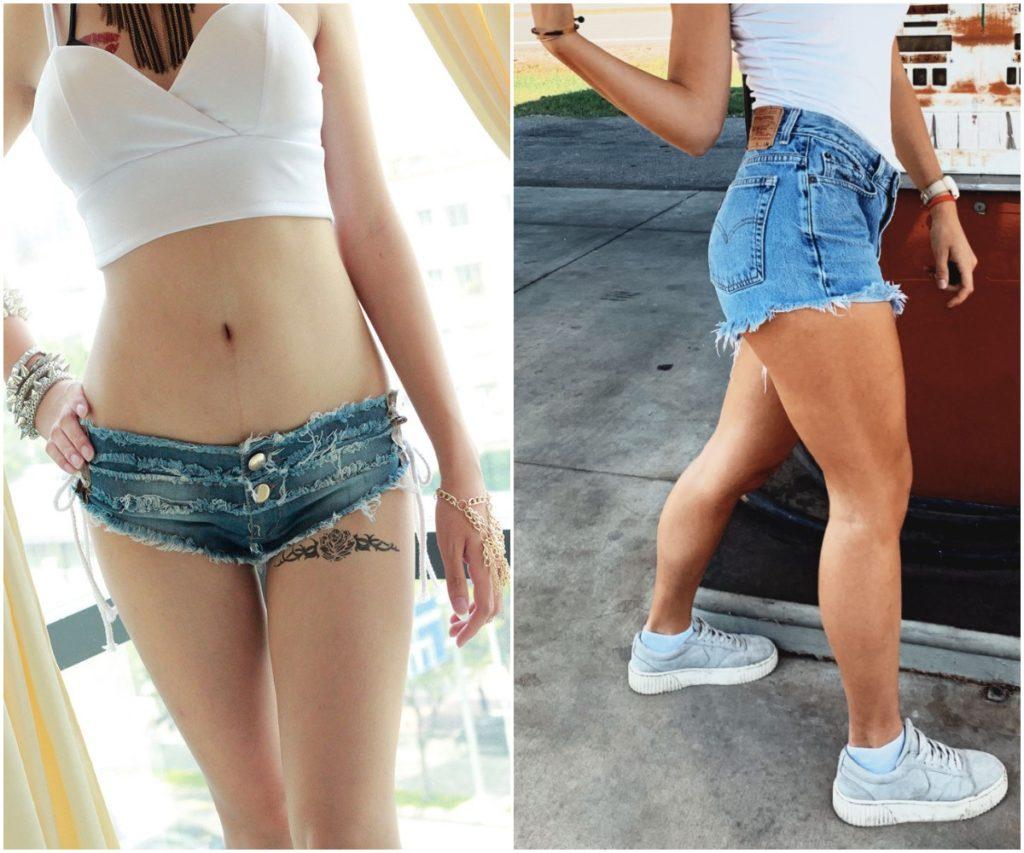 Women Casual Short Denim Shorts