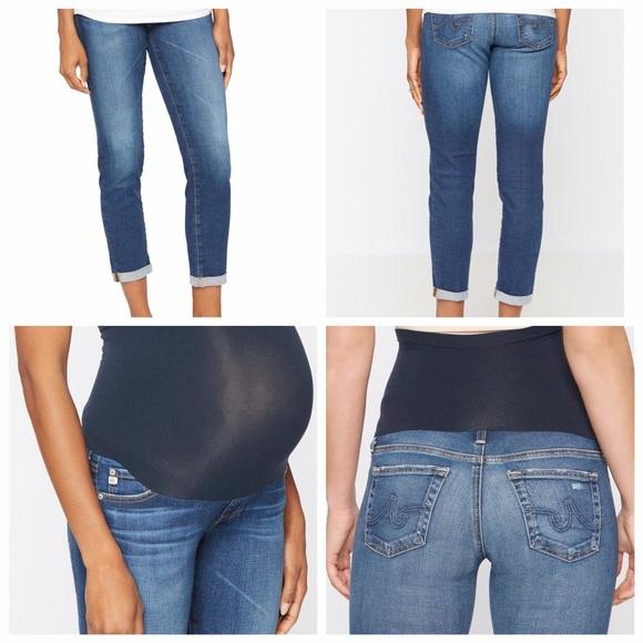 ag maternity jeans