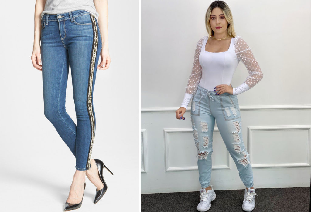 Fitting Jeans